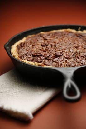 Pecan Cobbler with Sorghum Syrup - pecan pie alternative