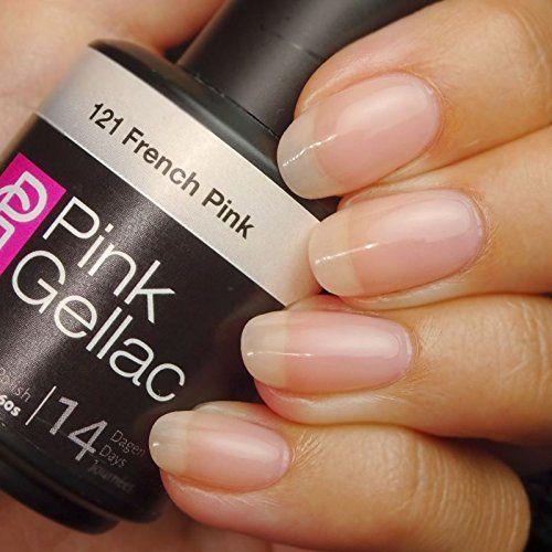 Pink Gellac #121 French Pink Soak-Off UV / LED Gel Polish (15ml / 0.5 fl oz) Pink Gellac http://www.amazon.com/dp/B00S7AE5O2/ref=cm_sw_r_pi_dp_LEW9wb055DAFD