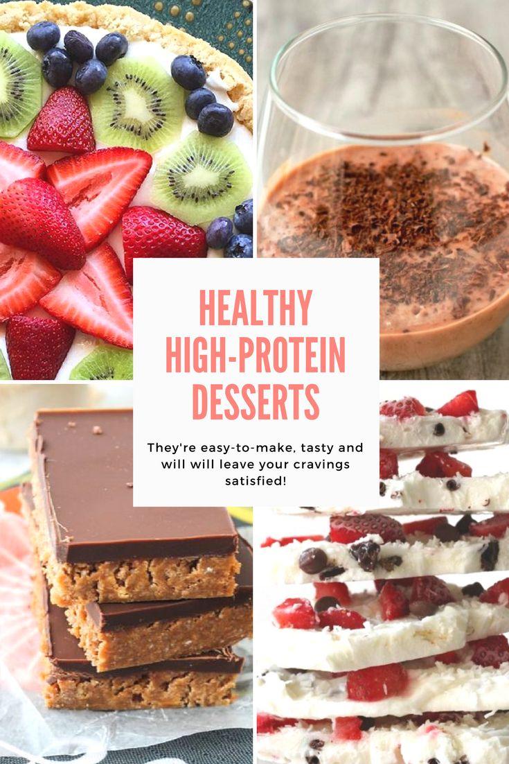 High-protein desserts | Healthy desserts | Simple dessert recipes