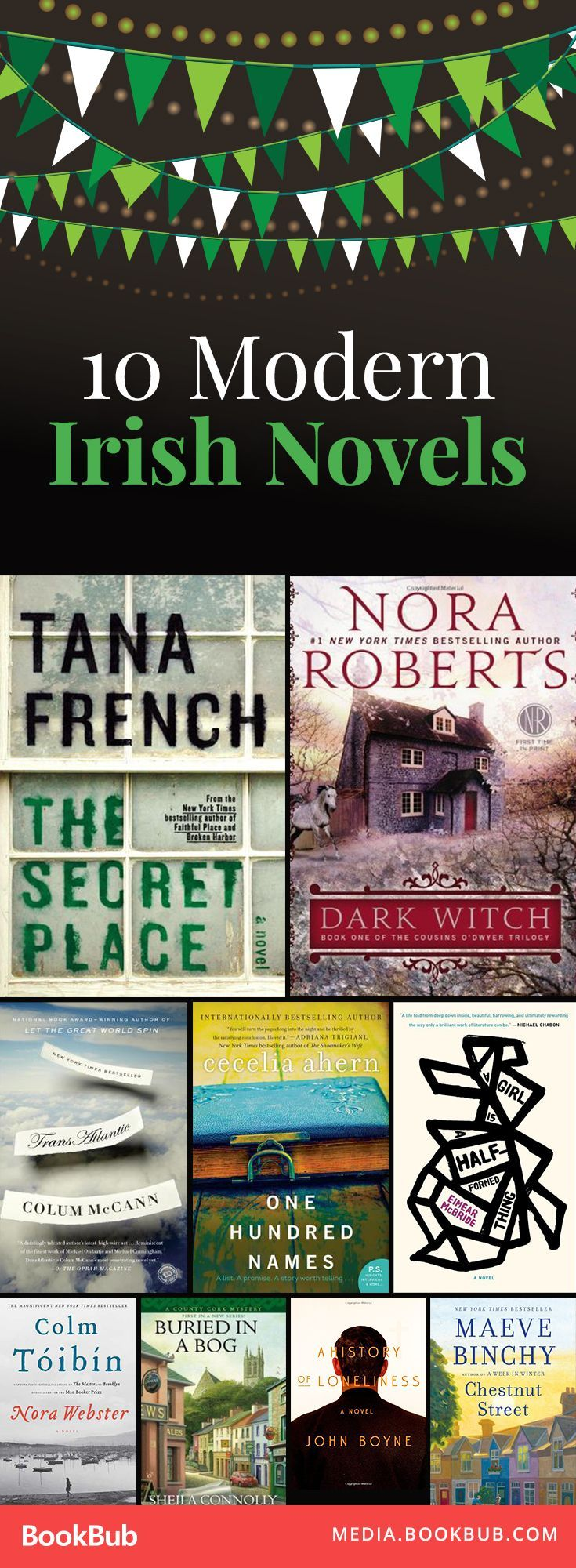 Great Modern Irish Novels Worth Reading This Year, Including Books By Nora  Roberts And Tana