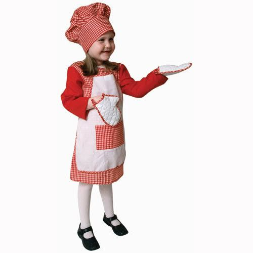 Now available from Bargains Delivered!  Red Gingham Girl ... at http://www.bargainsdelivered.com/products/red-gingham-girl-chef-dress-up-child-costume-toddler-t4