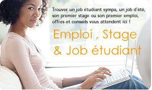 job étudiant; job saisonnier, job été , stage, premier emploi jeune diplômé