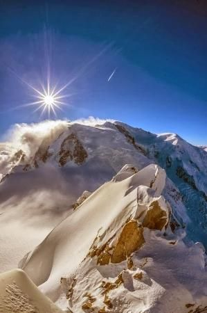 Mont Blanc by Tonkica
