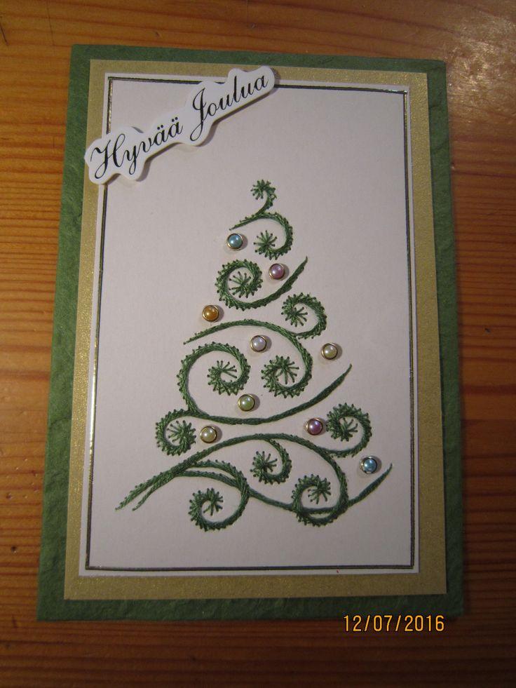 Kuusikortti odottaa joulua 2016.
