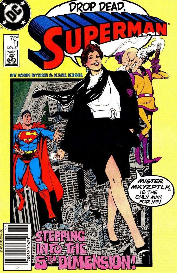 John persons comics for sale - Superman Nov 1987 Dc Comic Book Mister Mxyzptlk Stepping Into Dimension