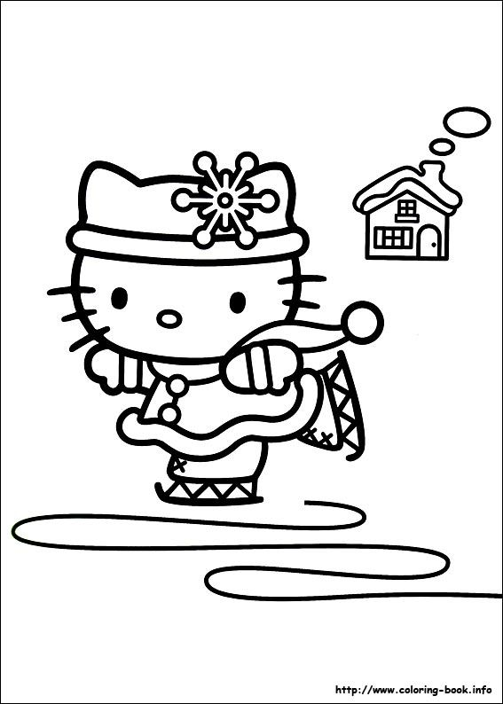 133 best images about hello kitty coloring pages on pinterest coloring pages for girls - Coloriage hello kitty ...