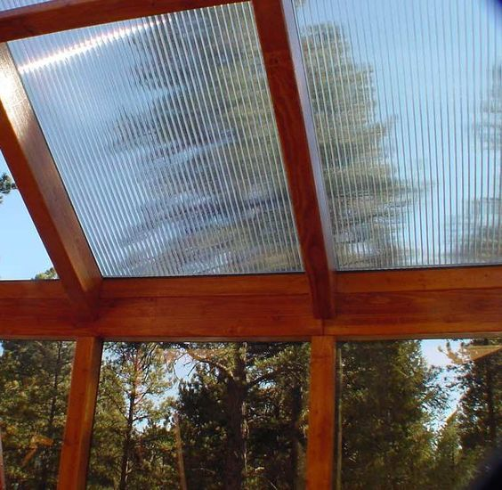 16mm clear polycarbonate roof