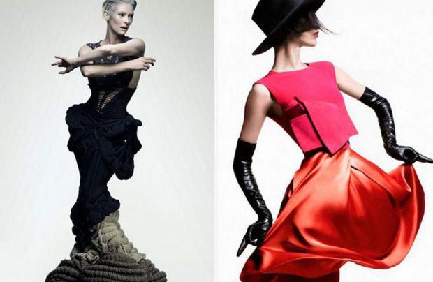 Необходимые требования по стилю: - игра форм - ассиметрия  - смелые сочетание ярких цветов  - нестандартные силуэт