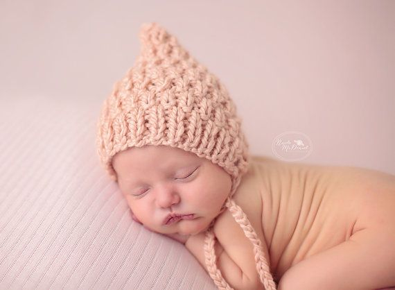 Baby Boy Hat Baby Girl Hat Knit Baby Bonnet Newborn
