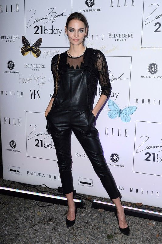 Top Model Zuzanna Bijoch celebrates her 21st birthday with Mohito total look <3