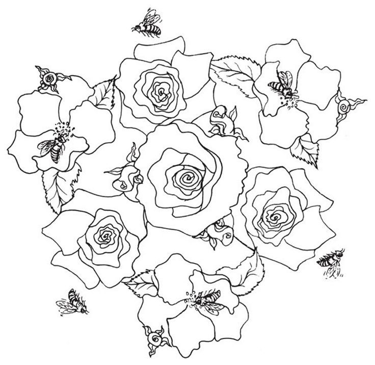 coloring pages roseart lampshades - photo#38