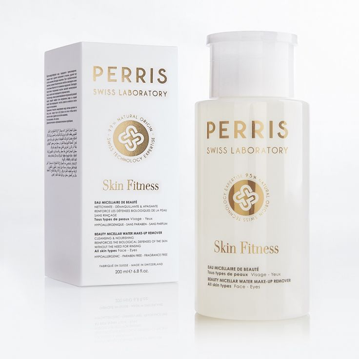 Beauty Micellar Water Make-Up Remover Skin Fitness Cleansing and nourishing. Reinforces the biological defenses of the skin without the need for rinsing