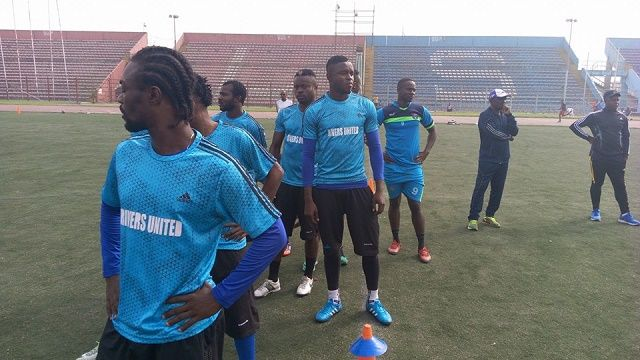 RIVERS UNITED FC RESUMES TRAINING AFTER XMAS BREAK