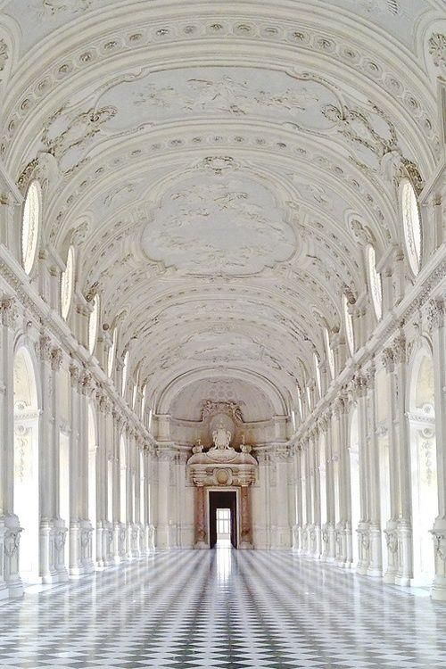 Amedeo di Castellamonte, Palace of Venaria, near Turin, Italy; built in 1675