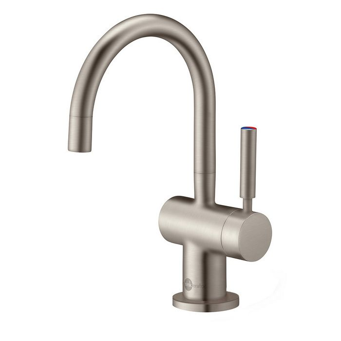 Insinkerator F-HC3300SN Indulge Modern Satin Nickel Hot Water Dispensers Kitchen Faucets  | eFaucets.com