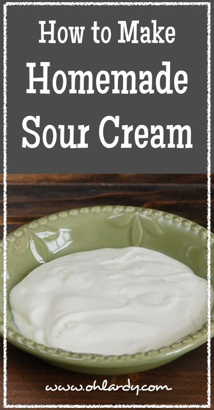 How to Make Homemade Sour Cream - Oh Lardy! :: Want some simple tips to help you learn how to #ferment foods at home? Join our email series that will teach you everything you need to know: https://il313.infusionsoft.com/app/form/8c0057a0e3f4312eca3433b52efd0d2b