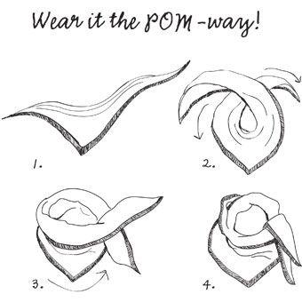Wear it the POM-way!