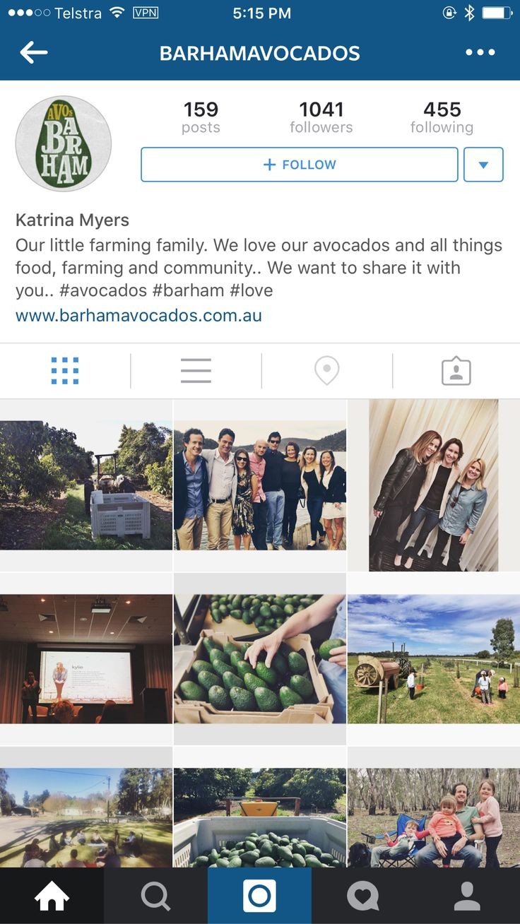 Another wonderful local Insta account. A bonus if you like #avocados!