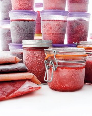 Preserve summer flavors all year long with these recipes for jams, jellies, and preserves made with your favorite fruits of the summer. This magic formula works beautifully for the whole dizzying array of ripe summer fruit plums, peaches, nectarines, strawberries, blueberries, raspberries, or blackberries. No canning required, and the jam will keep in the freezer for up to six months.