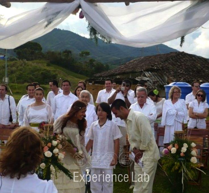 Experiencias románticas, boda celta