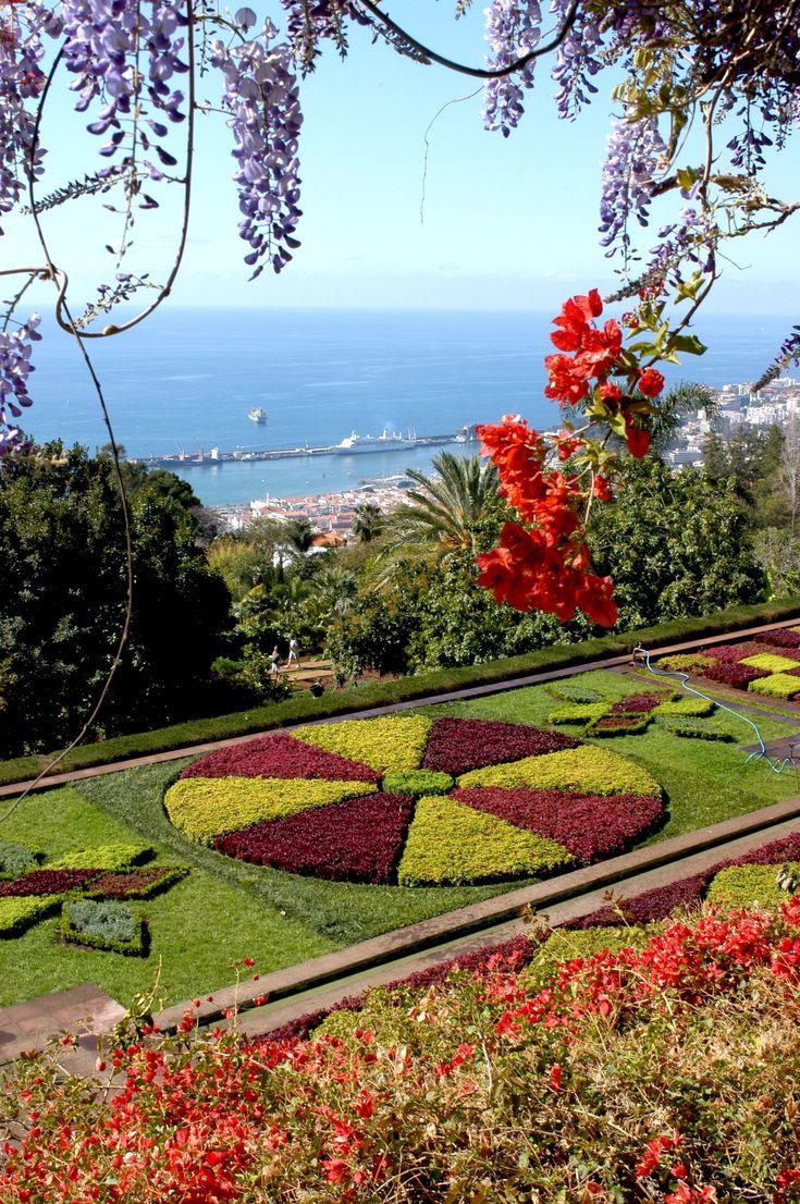 Funchal botanic garden Madeira Island Portugal