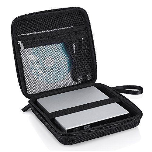 VicTsing Housse Portable de Transport Sac de Protection pour Lecteurs/ Graveurs Optiques Blu-ray/ DVD/ CD, Disque Dur Externe USB:…