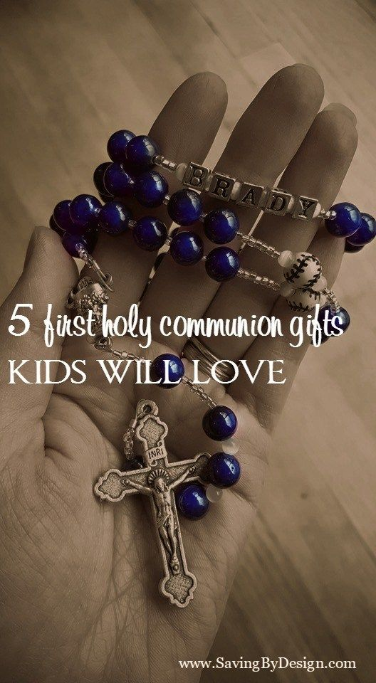 Trying to find First Holy Communion gifts that kids will love can be difficult. Here are some gifts that are special, yet kid-friendly and functional.