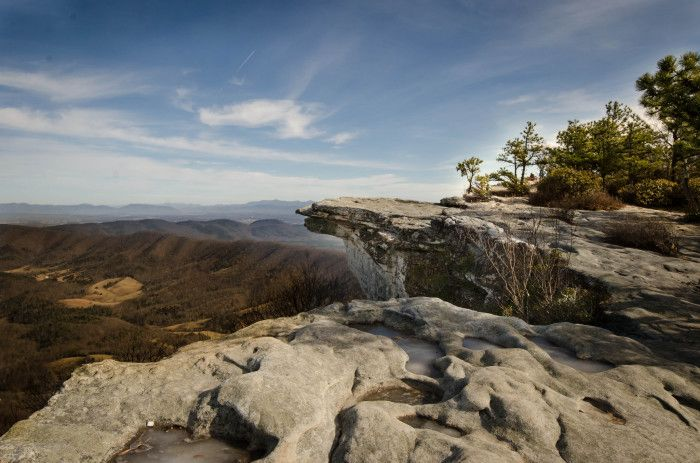 16 Awe-Inspiring Hikes in Virginia. Pictured: 1. McAfee Knob, Roanoke County, Virginia