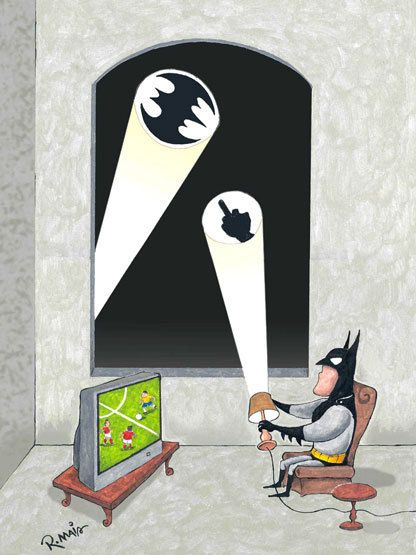 Batman needs a break -this is sort of how I feel about being a 24/7 parent with my kids right now!