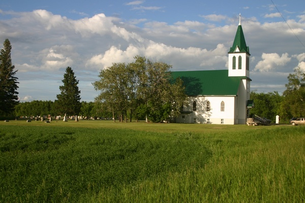 Mom was born and raised in Rhein Saskatchewan where she attended Christ Lutheran Church as a child. Her father ran the local general store, Graf and Son.