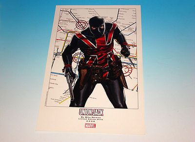 Union Jack Limited Edition Print Marvel Comics Mike Perkins Art 2008: $19.95 End Date: Tuesday Mar-27-2018 7:40:30 PDT Buy It Now for only:…