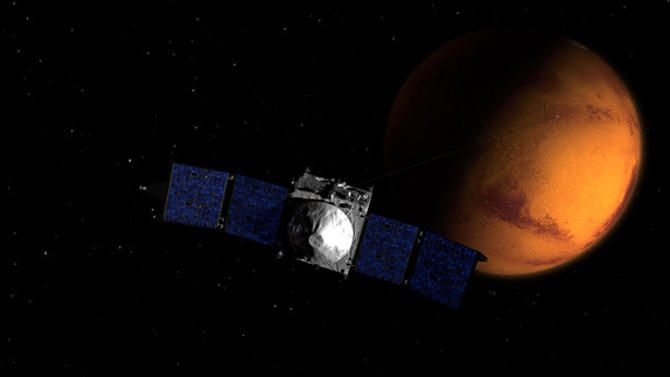 NASA Mars Orbiter Arrives at Red Planet Tonight: Watch It Live