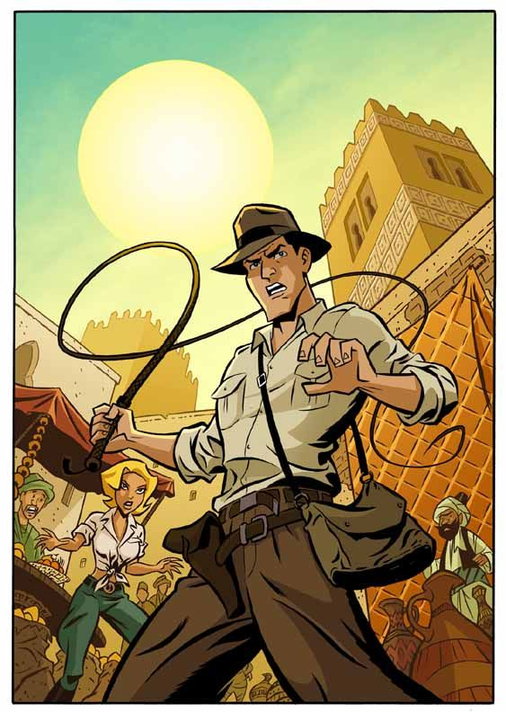 Indiana Jones Adventures by cretineb.deviantart.com on @DeviantArt