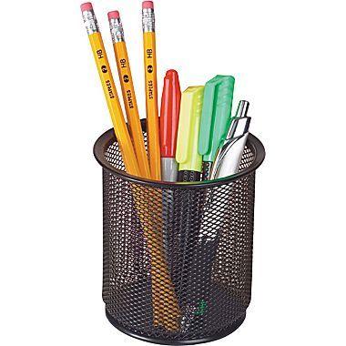 metal pencil holder - Google Search | Pencil cup, Metal ...