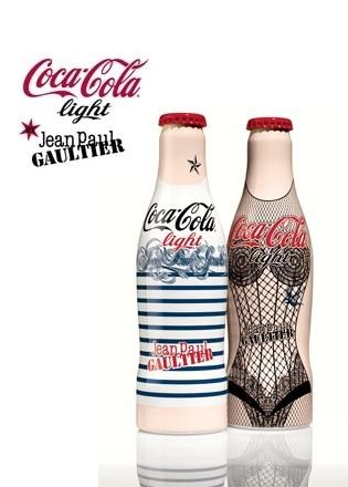 Jean Paul Gaultier & Coca-Cola Light - Glamour Promotion - - GLAMOUR Nederland