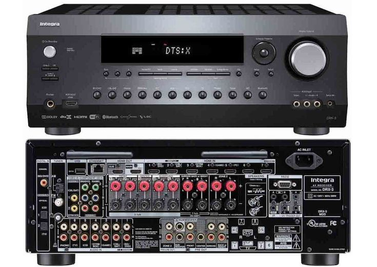 The Best Mid-Range Home Theater Receivers For 2017: Best For Custom Installations: The Integra DRX-2 and DRX-3