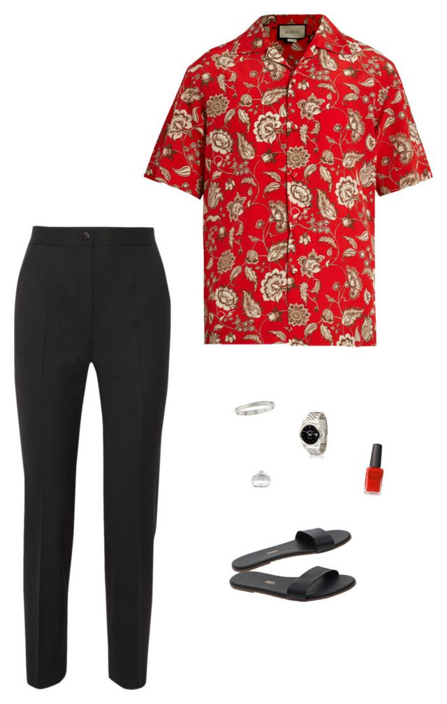 """""""#81"""" by heelsandgo on Polyvore featuring Gucci, Kobelli, Cartier, Tkees, Dolce&Gabbana and Kester Black"""