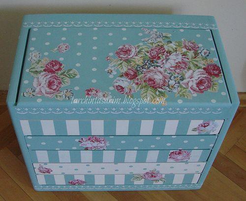 Painted Wood Box Ideas