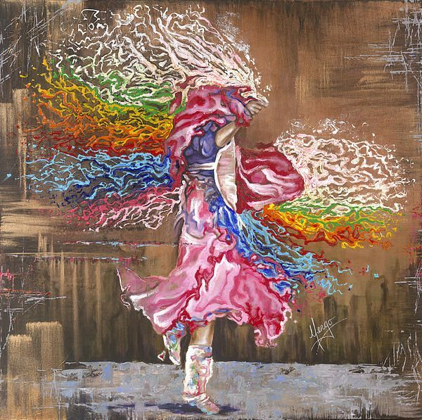 Dance through the color of life karina llergo salto fine art america