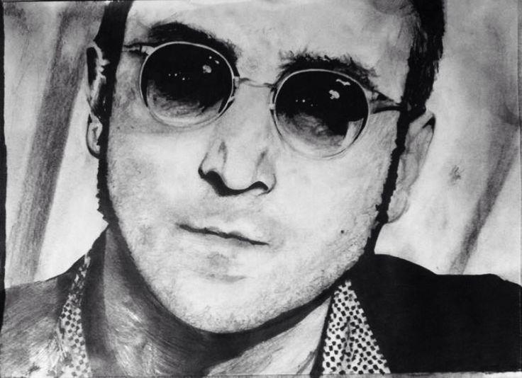 Lennon . . .  Pencil & Ink , A3 By K.s . . .