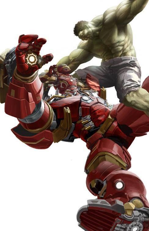 The Hulk vs. Hulkbuster by Jong Hwan * - Art Vault