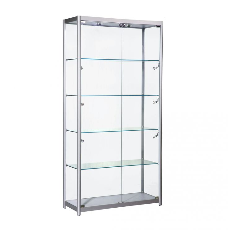 Wide Glass Showcase Cabinet | Glass Cabinets | Pinterest | Glass Showcase  And Glass