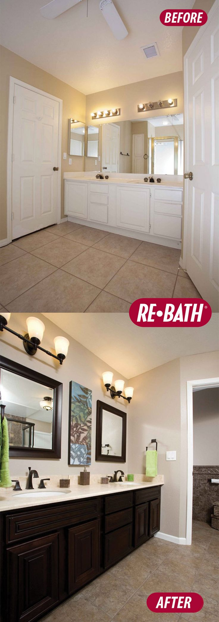 Bathroom Remodel Pics Before After 104 best re-bath® before & after images on pinterest | bathroom