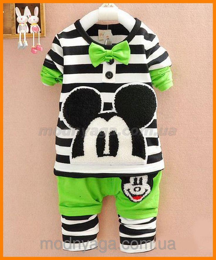 Комплект детский купить недорого | Детский костюм Микки Маус, цена 429 грн., купить в Харькове — Prom.ua (ID#100722044)