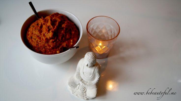 A very yummy Indian spread. Enjoy it with bread, vegetables or sweet potato sticks #healthy #recipe #vegan #glutenfree #indianfood