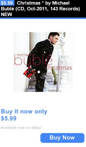 Christmas Songs And Album: Christmas * By Michael Bublé (Cd, Oct-2011, 143 Records) New BUY IT NOW ONLY: $5.99
