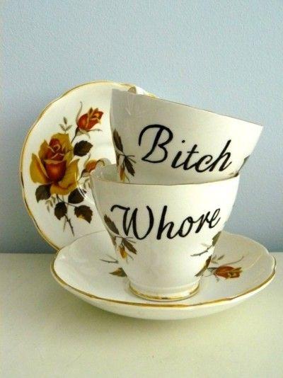 Tea for two hahahaha!
