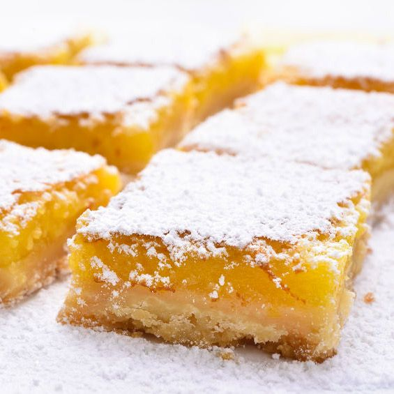 Lemon Bars (pastelillos de limón)