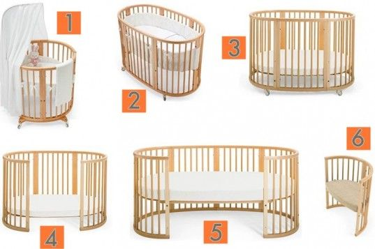 the stokke sleepi convertible crib system accommodates your child from birth to childhood because it's four+ beds in one, plus offers seating options for use even after your child outgrows the junior bed!