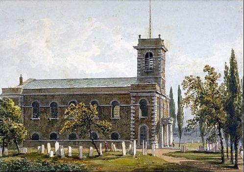 St Matthews Church, St Matthews Row, Bethnal Green